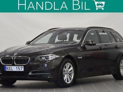 begagnad BMW 520 d M-Ratt Skinn El-Drag Eu6 2014, Personbil 179 900 kr