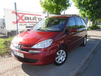 begagnad Peugeot 807 2.0 HDi FAP 7-sits 136hk, Ny Besi