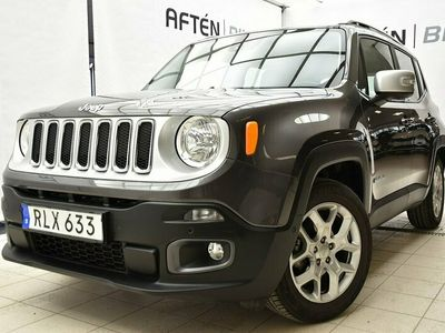 begagnad Jeep Renegade 1.4 M-Air DDCT (Aut) Limited 140hk