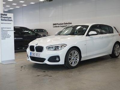 begagnad BMW 118 i 5d M-Sport LED PDC