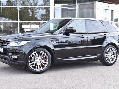 begagnad Land Rover Range Rover Sport SDV6 PANORAMA 7-SITS EURO 6