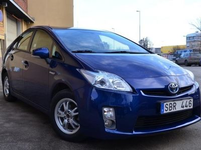 begagnad Toyota Prius 1,8 HSD Business Skinn Nyservad Momsbil