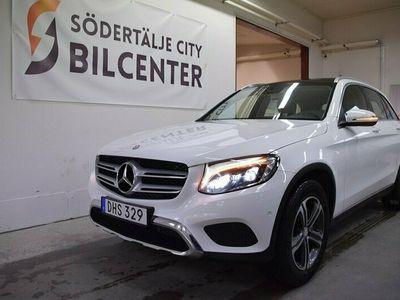 begagnad Mercedes GLC220 d 4MATIC SKINN PANORAMA 9G-Tronic Euro 6 170HK SVENSKSÅLD