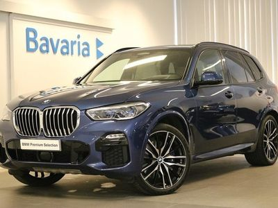 begagnad BMW X5 xDrive30d M Sport Innovation pkt Winter Drag Offroad package