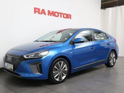 begagnad Hyundai Ioniq Hybrid 1,6 141HK Premium Plus Motorv/LED Ljusramp