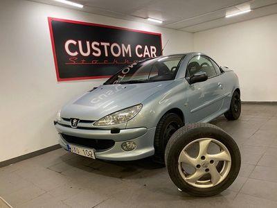 begagnad Peugeot 206 CC cab 1.6 109hk