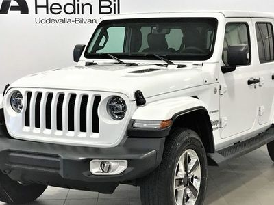 begagnad Jeep Wrangler Unlimited 2.0L SAHARA 272HK 8AT MY18