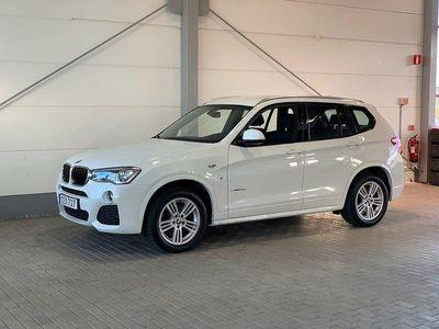 begagnad BMW X3 Xdrive20d M-Sport Paket Värmare Infäll