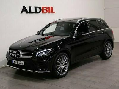 "begagnad Mercedes 220 GLC Benzd 4M 4Matic AMG Sky Panorama 20"" 2018, SUV Pris 389 000 kr"