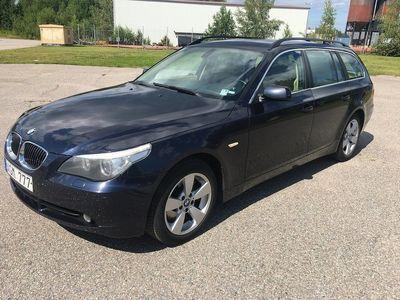 begagnad BMW 525 xi Touring Automat 218hk GPS