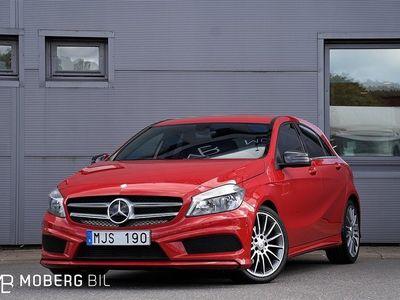 begagnad Mercedes A180 122hk Aut AMG Nyservad