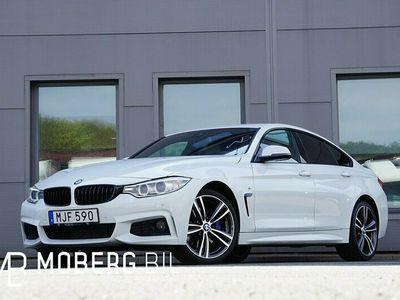 begagnad BMW 435 Gran Coupé d xDrive 313hk GC M Sport Navi HUD Hifi
