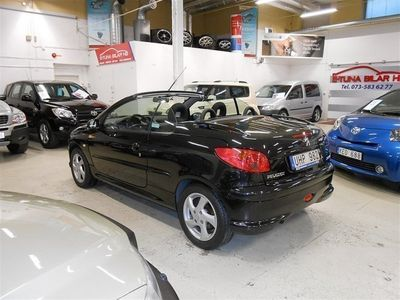 begagnad Peugeot 206 CC 1,6 BES NY SERVAD