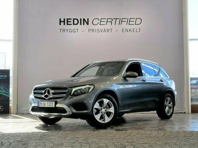 begagnad Mercedes GLC220 - Benzd 4MATIC EXCLUSIVE / NAVI / DRAG