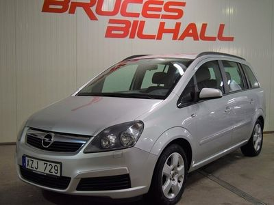 begagnad Opel Zafira 1.8 7-sits 140hk