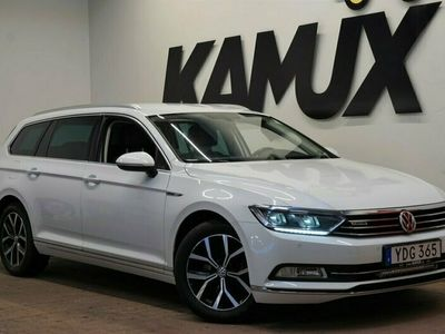 begagnad VW Passat 2.0 TDI 4M | Executive | Skinn | 190hk