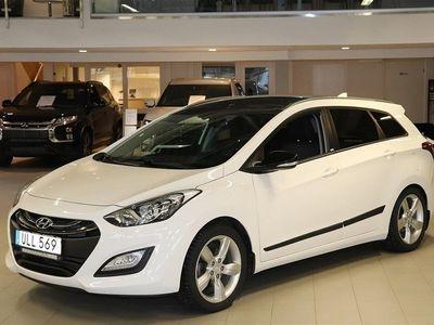 begagnad Hyundai i30 GDi Kombi Go Edition Panaoramaglastak 2014, Personbil 128 800 kr