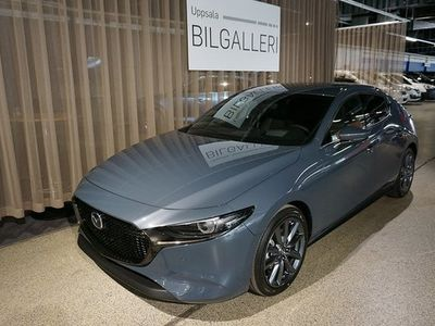 begagnad Mazda 3 3HB 2.0 Aut AWD Sky M. Hybrid Köp el. Privatleasing med s 2020, Halvkombi 308 800 kr
