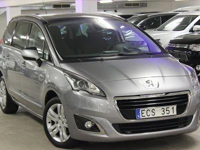 used Peugeot 5008 Allure+ 1,6 e-HDi 114hk Automat -14