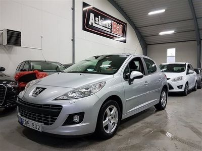 begagnad Peugeot 207 1,4HDI 5.000 mil 5dörr