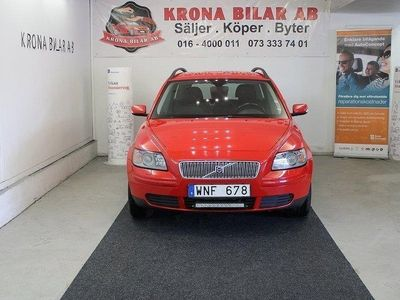 begagnad Volvo V50 1.6 NYBESK, NYSERVAD, DRAG AC