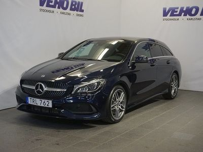 begagnad Mercedes CLA220 d Aut AMG-Line Dragkrok -19