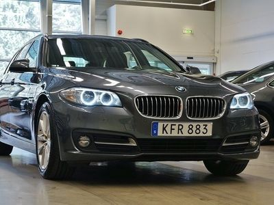 brugt BMW 520 d xDrive Läder Komfortpkt Drag 190hk !