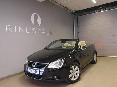 begagnad VW Eos FSI 150 HK Exclusive CAB