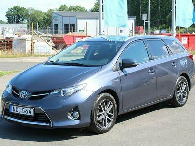 begagnad Toyota Auris Touring Sports Hybrid 1.8 Nyservad Navi Backkam