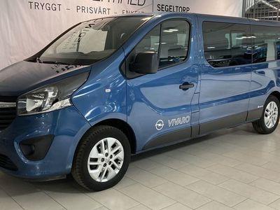 begagnad Opel Vivaro 1.6 BITURBO 9-sits 125hk s+v-hjul