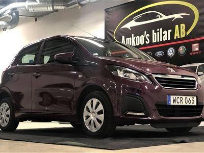 begagnad Peugeot 108 5-dörrar 1.0 VTi Euro 6 69hk