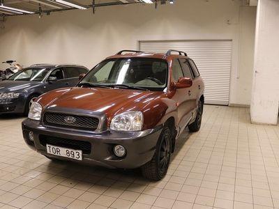 begagnad Hyundai Santa Fe 2.4 AWD SKINN NYBES LÅGMiL S