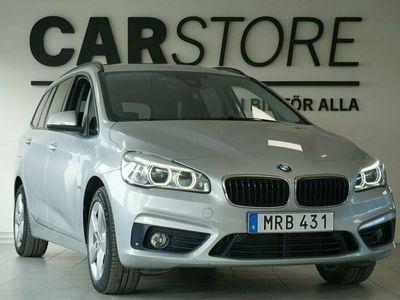 begagnad BMW 220 Gran Tourer d xDrive Sport Line Drag 7-sits