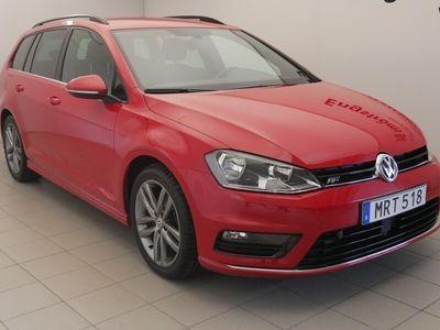 begagnad VW Golf SportsCombi TDI 150hk 4M Dragpaket