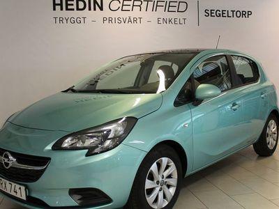 begagnad Opel Corsa 1,4 90HK AUTO 5D ENJOY PLUS PANORAMA V-HJUL