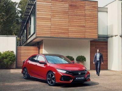 begagnad Honda Civic 1.5T Sport Plus Navi CVT 182HK