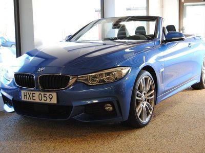begagnad BMW 435 i Cab M-Sport Euro 6 306hk Svensksåld