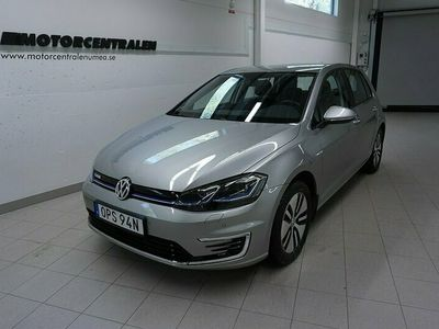begagnad VW e-Golf E 136hk 35.8 kWh 23mils räckvidd Pluspaket/P-senso