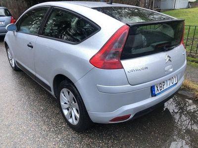 begagnad Citroën C4 Coupe 1,6 bensin