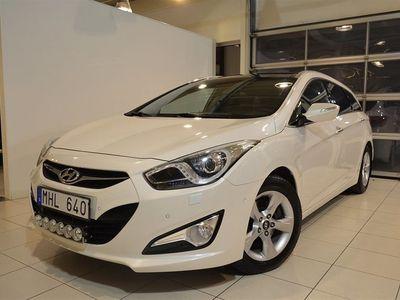 begagnad Hyundai i40 1.7 CRDi Kombi Premium M6 (136hk)