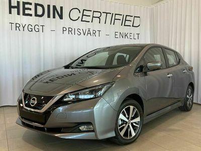 begagnad Nissan Leaf TEKNA 40 kWh 149hk 2021 DEMOBIL