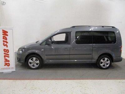 gebraucht VW Caddy Maxi Life 7 Sits Manuell 2,0 Tdi 140 Hk