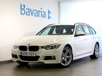 begagnad BMW 320 i xDrive Touring M-sport Navigation Dragkrok Nypris 452 000