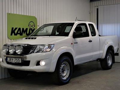 begagnad Toyota HiLux 2.5 D-4D | 4WD | Värmare | (144hk)