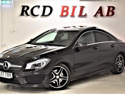 begagnad Mercedes CLA220 CDI AMG PANO KAMERA EU6