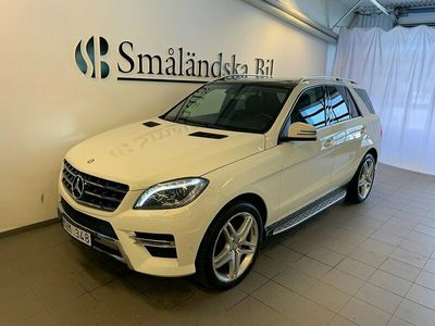 begagnad Mercedes ML350 4M 7G-Tronic Plus AMG 258hk Panorama