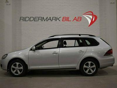 begagnad VW Golf VI Variant 1.6TDI 4M M-värm Fullserv 105hk