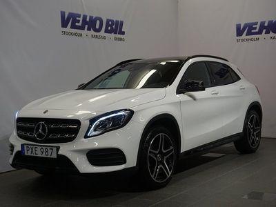 brugt Mercedes GLA200 AMG-Night Backkamera Aut Drag Nav AppleCarplay