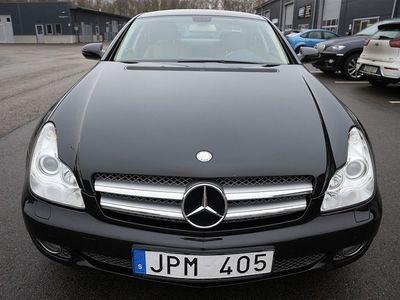 begagnad Mercedes CLS350 CGI 292hk Sv-såld/Navi/Skinn
