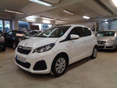 begagnad Peugeot 108 5-dörrar 1.0 VTi ETG5 Euro 6 68hk